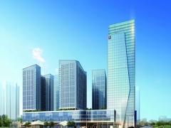 湖南株洲-希尔顿酒店幕墙工程